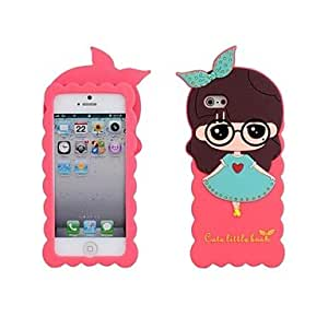 TLB Small Greek Skirt Silicone Soft Case for iPhone 5/5S