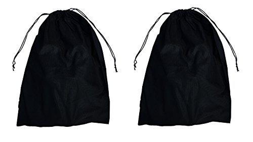2 Woly XXL Shoe Bags (18''x 14'' in.) Fits 2 Pairs of Shoes Per Bag. Good for Travel. Made in Germany. by Woly