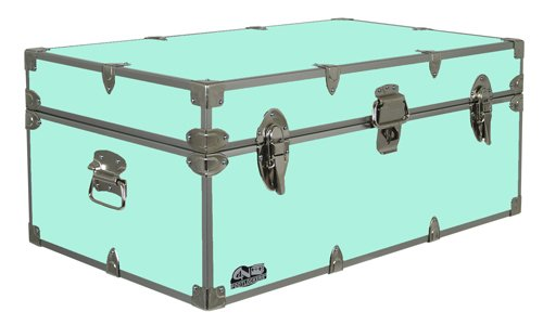 e43be88fe9117 Happy Camper Footlocker Camp Trunk – #CN-1104-v3 – Available in Vibrant  Colors – 32 x 18 x 13.5 Inches