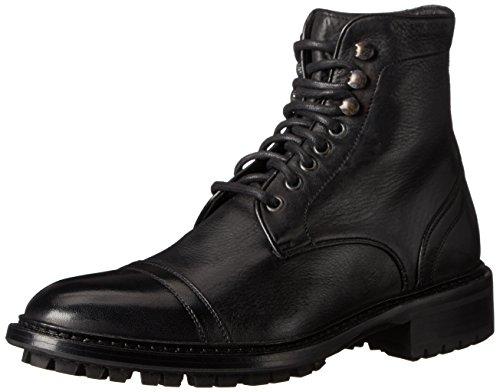 Att Starta New York Mens Gibson Bekämpa Boot Cervo Nero