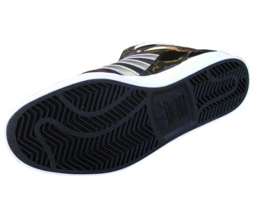 Adidas, Scarpe Basket uomo Nero Black / Metallic Silver / White / Blue