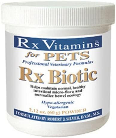Ship from USA Rx Vitamins for Pets – Rx Biotic 2.12 oz. – Probiotics for Digestive Health .ITEM-NO EGB41S-1GFT8213