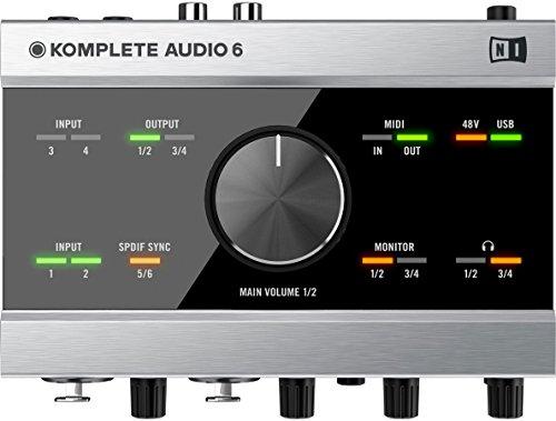 [해외]Native Instruments Komplete Audio 6 6 채널 USB 오디오 인터페이스 (1 년 무료 연장 보증 포함)/Native Instruments Komplete Audio 6 6-Channel USB Audio Interface with 1 Year Free Extended Warranty