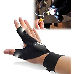 New LED Light Finger Lighting Gloves Auto Repair Outdoors Flashing Artifact New
