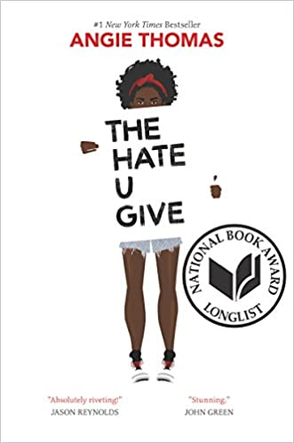 Image result for the4 hate u give book cover