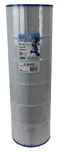 Unicel C-8420 Replacement Filter Cartridge for 200 Square Foot Hayward C1900RE, Waterway Pro Clean 200 (Unicel 200 Square Foot Cartridge)