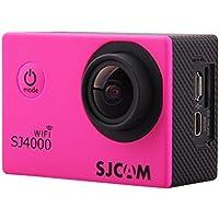 SJCAM SJ4000 - Videocámara Deportiva con WiFi, Color Rojo