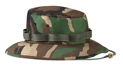 (Rothco Jungle Hat, Woodland Camo, Medium)