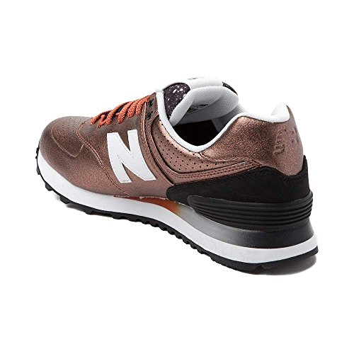 New Balance Women's WL574 Core Plus-W Lifestyle Sneaker Black White 1493 cheap real fake sale visit new free shipping with mastercard 44tHL