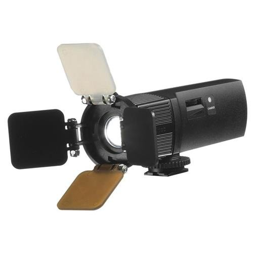 Ikan iLED-MS Micro Spot On-Camera Light (Black) by Ikan