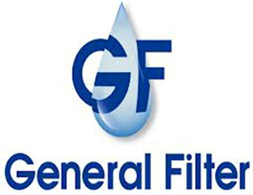 General Oil 1129 2A-17AF-1-25-NU Multi Purpose Filter with 25 micron felt element 1'' NPT Ports, Buna-N Gaskets, Uncoated Interior