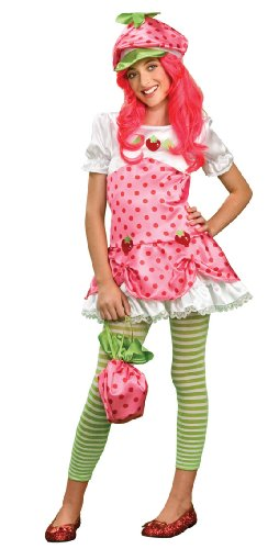 Strawberry Shortcake Costume, Tween Medium