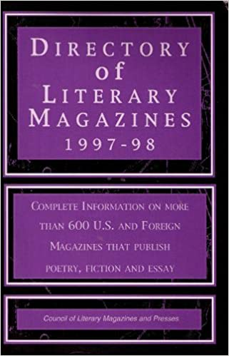 Directory of Literary Magazines 1997-98 (Issn 0884-6006