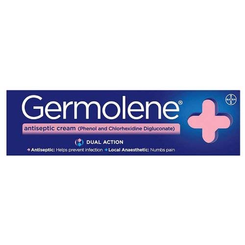 Bayer GERMOLENE Antiseptic Cream with Local Anaesthetic, 30 gram