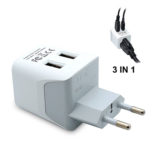 Ceptics Most Europe Travel Adapter product image