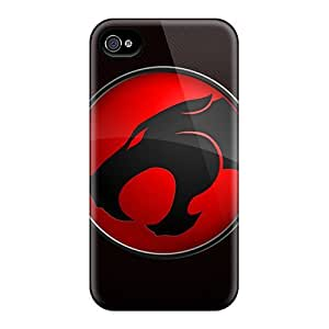 Shock Absorbent Hard Cell-phone Cases For Iphone 6plus With Custom HD Thundercats Pattern JamieBratt