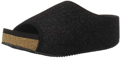 VOLATILE Women's FESTINA Platform, Black, 6 M US (Platform Womens Studio Black Sandals)
