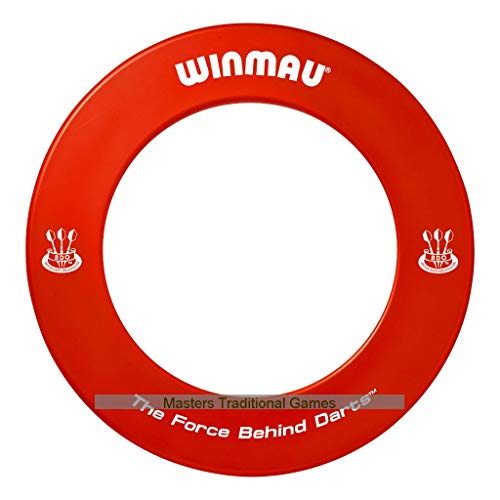 - Winmau one-piece Dartboard surround (Red)