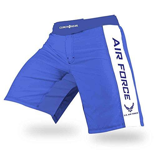 CLINCH GEAR - Pro Series - MMA Shorts WOD Shorts Fight Shorts (USAF, 34) by CLINCH GEAR