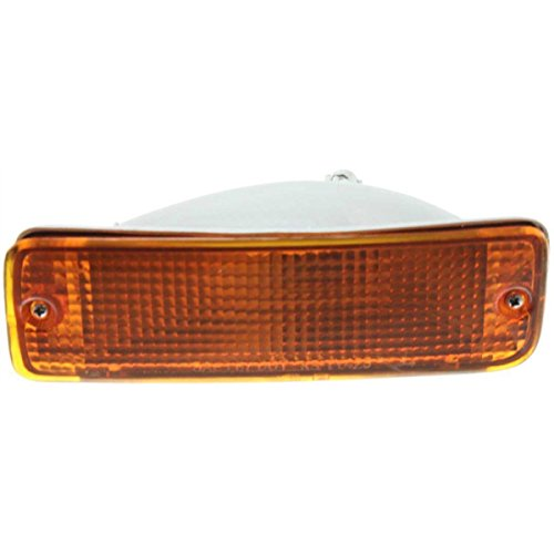 DAT 89-95 TOYOTA PICKUP FRONT SIGNAL LIGHT ASSEMBLY IN THE BUMPER LEFT DRIVER SIDE TO2520105 (Toyota Brake Pickup Front)