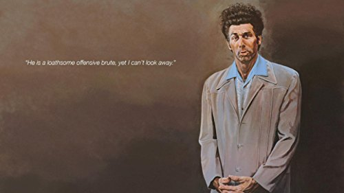 Seinfeld Cosmo Kramer Fabric Cloth Rolled Wall Poster Print