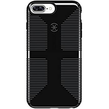 Speck Products CandyShell Grip Cell Phone Case for iPhone 7 Plus - Black/Slate Grey