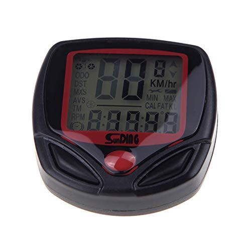 Docooler® Sunding SD-548B Wired Bike Bicycle Cycle Computer Odometer Speedometer LCD Waterproof 14 Functions