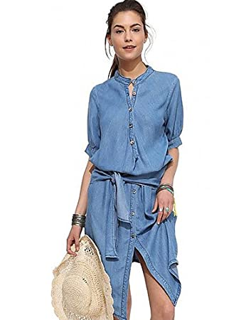 267ff2c1d1ed Damen Kleider casual 2016 Sommer Damen Simple/Street Chic Massiv ...