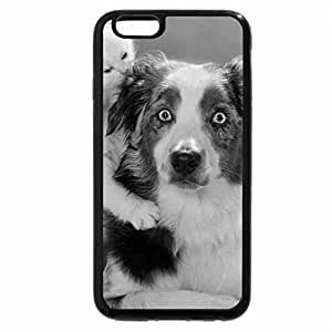 iPhone 6S Plus Case, iPhone 6 Plus Case (Black & White) - What Ya Doin'