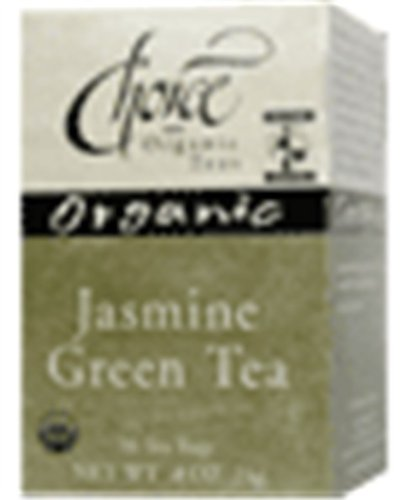 Choix Jasmine Organic Green Tea, 16 comte Box