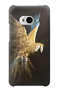 S1389 Parrot Case Cover For HTC ONE M7