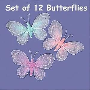 Amazon.com: OTC Nylon BUTTERFLIES butterfly Decorations ...