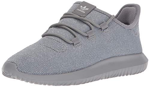 (adidas Originals Boys' Tubular Shadow C Running Shoe, Grey Three/Metallic Silver, 2 M US Little Kid)