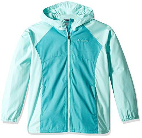 Columbia Girls' Big Endless Explorer Jacket, Geyser Heather/ Gulf Stream Heather, Large ()