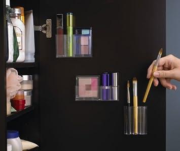 StickOnPods Cosmetic Organizer Good Ideas