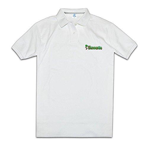 Price comparison product image Ruyalu Men¡¯s Sandbox Game Logo Player Polo Shirt
