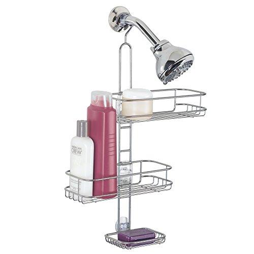 mDesign Adjustable Bathroom Organizer Conditioner
