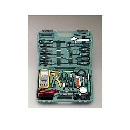 【キャンセル不可】KT49659 電気工事用工具セット(53点) B019I0ZNE0