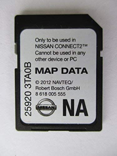 3TA0B 2013 NISSAN CONNECT SD CARD , NAVIGATION GPS MAP DATA , NAVTEQ , NA/NORTH AMERICA US CANADA 25920-3TA0B ,FOR 2013 SENTRA ALTIMA SEDAN XTERRA TITAN NV200 FRONTIER NV1500 NV2500 NV3500