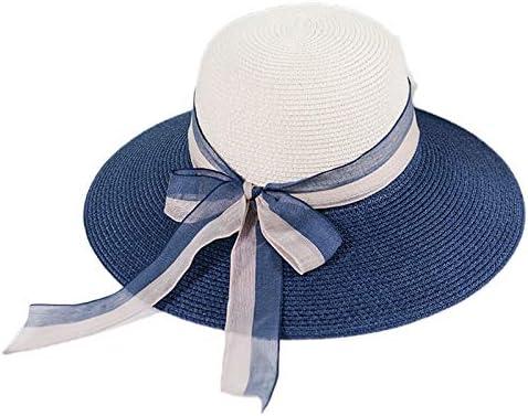 JUNGEN Gorras para Mujer Sombrero de Paja del Cinta con Diseños de ...
