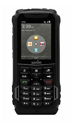 Sonim XP5 4G LTE Military Grade Rugged PTT Mobile Cell Phone - GSM Unlocked