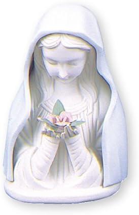 católica regalos Ltd,Virgen María estatua–Madonna estatua,Cerámica azul y blanco porcelana,Tamaño: