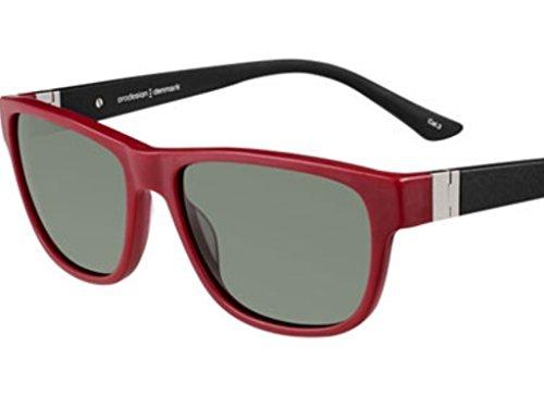 Prodesign Sunglasses Red 8629 - Prodesign Sunglasses