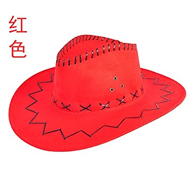 À l'été de l'avant-toit Cap Shaded Sun Hat Chapeaux mode Plein Air Marée Sport et loisirs (56-58cm ,M), la Big Red