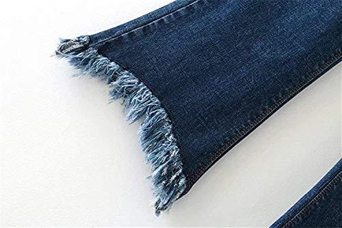 Pantalons Colour 8 Jeans Larges Bolawoo Printemps Hjahr Évasés D'été FemmesTaille ÉvasésHauteDécontractésMode Femmes Chic 7 Pour Culotte Décontractés BodWCrex