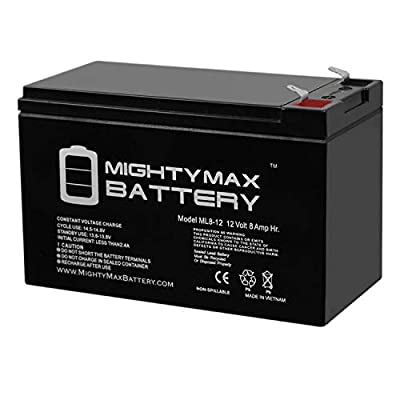 Mighty Max Battery 12V 8Ah Razor Ground Force Drifter Go Kart Battery Brand Product: Electronics
