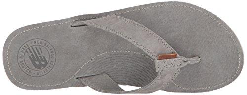 New Balance Hombres Classic Thong Sandal Grey / Gum