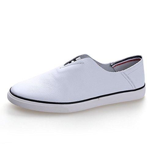 hydne-mens-casual-fashionable-comfortable-flat-antiskid-simple-sneaker41-m-eu-8-dm-uswhite