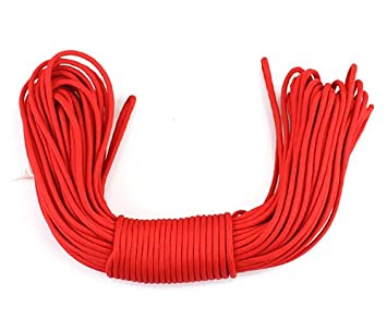 KEEJEA 750 Paracord 7 Inner Strands Mil C-5040H Type IV 100ft Parachute Cord for Camping Outdoor