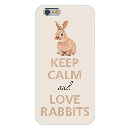 apple-iphone-6-custom-case-white-plastic-snap-on-keep-calm-and-love-rabbits-small-bunny